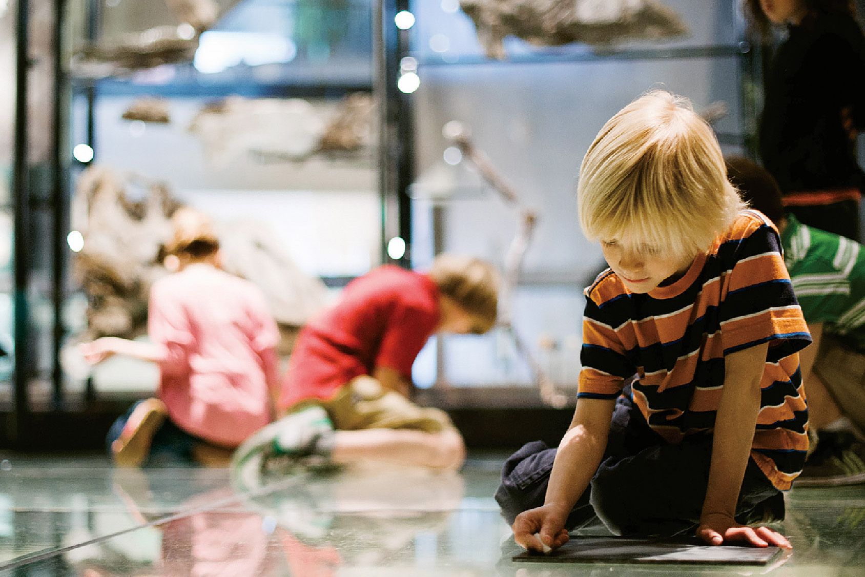 Youth classes at NHMU
