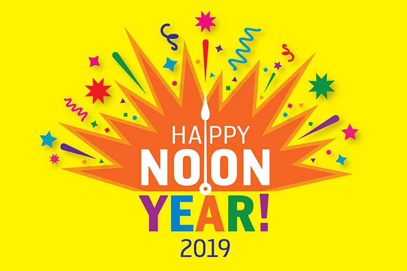Noon Year's Eve logo