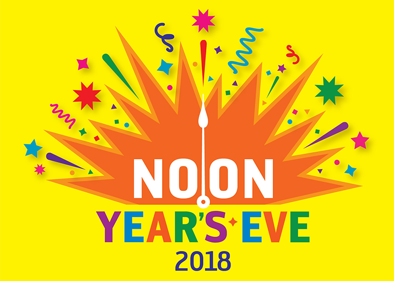 Noon Year's Eve 2018