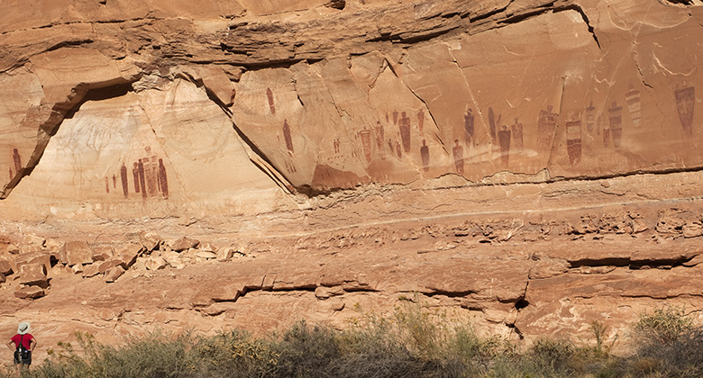 [image] Bold Figures, Blurred History: The Great Gallery in Horseshoe Canyon