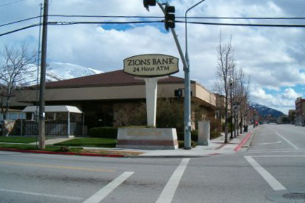 Zions Bank branch in Brigham City, Utah.