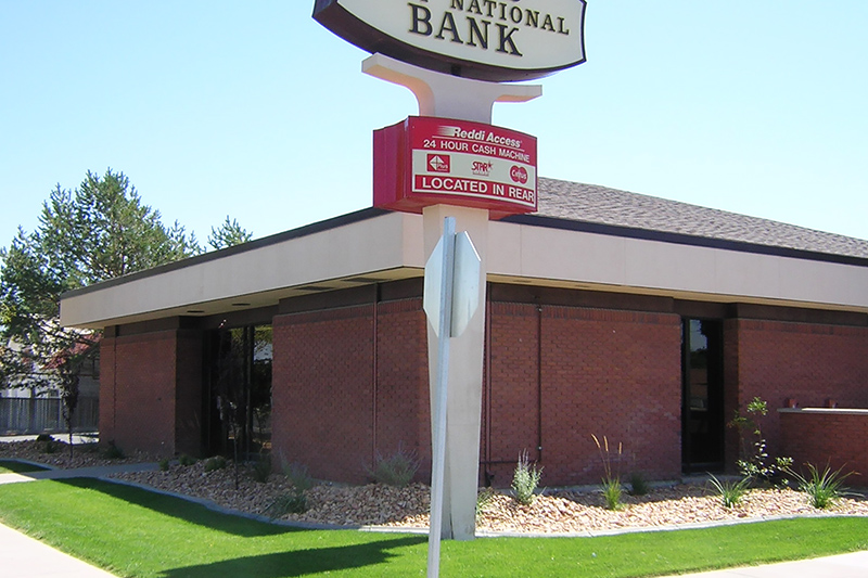 Zions Bank branch in Delta, Utah.