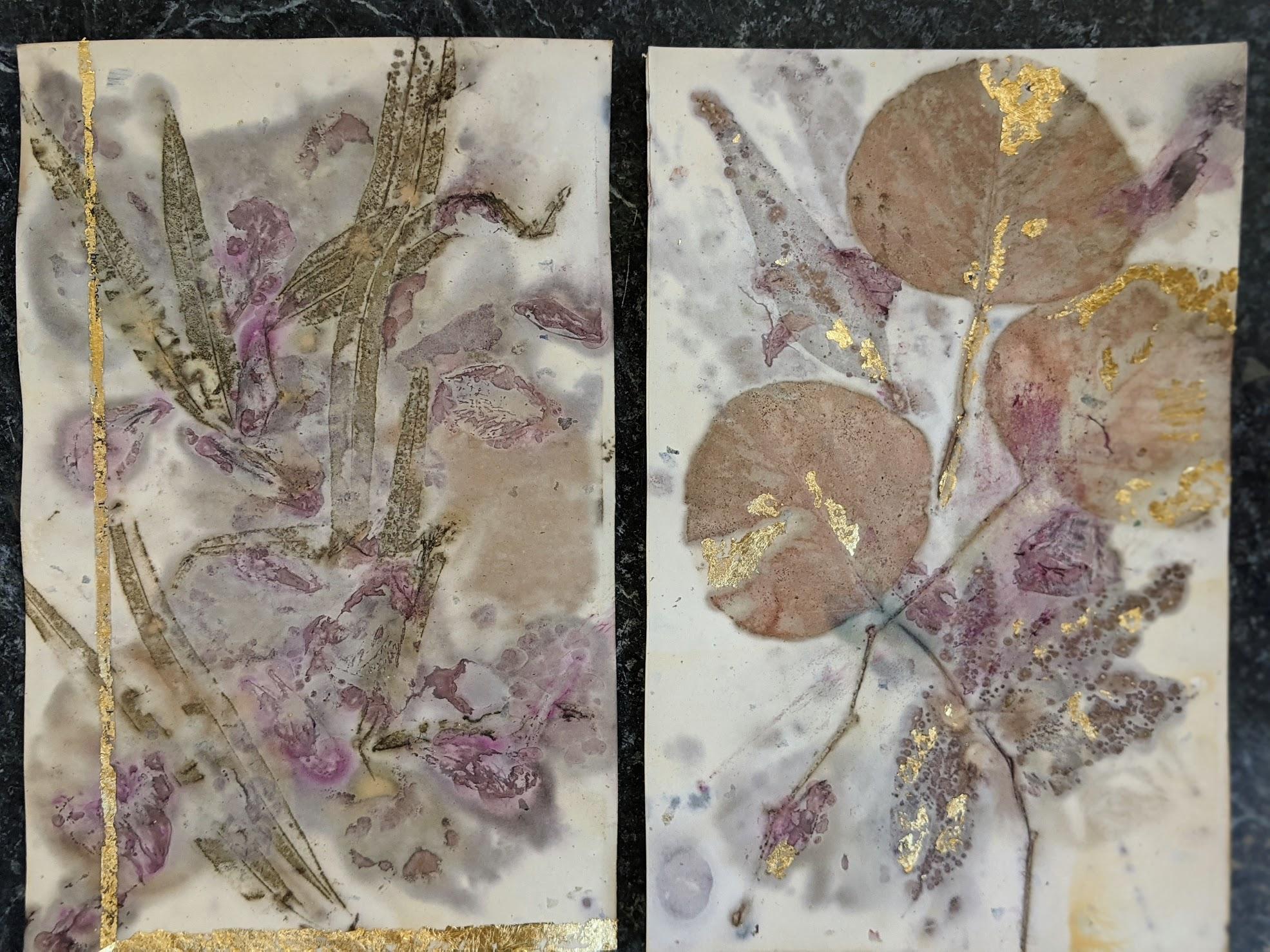 Plant-based prints.