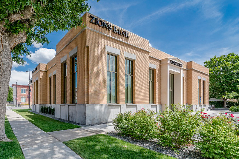 Zions Bank branch in Ephraim, Utah.