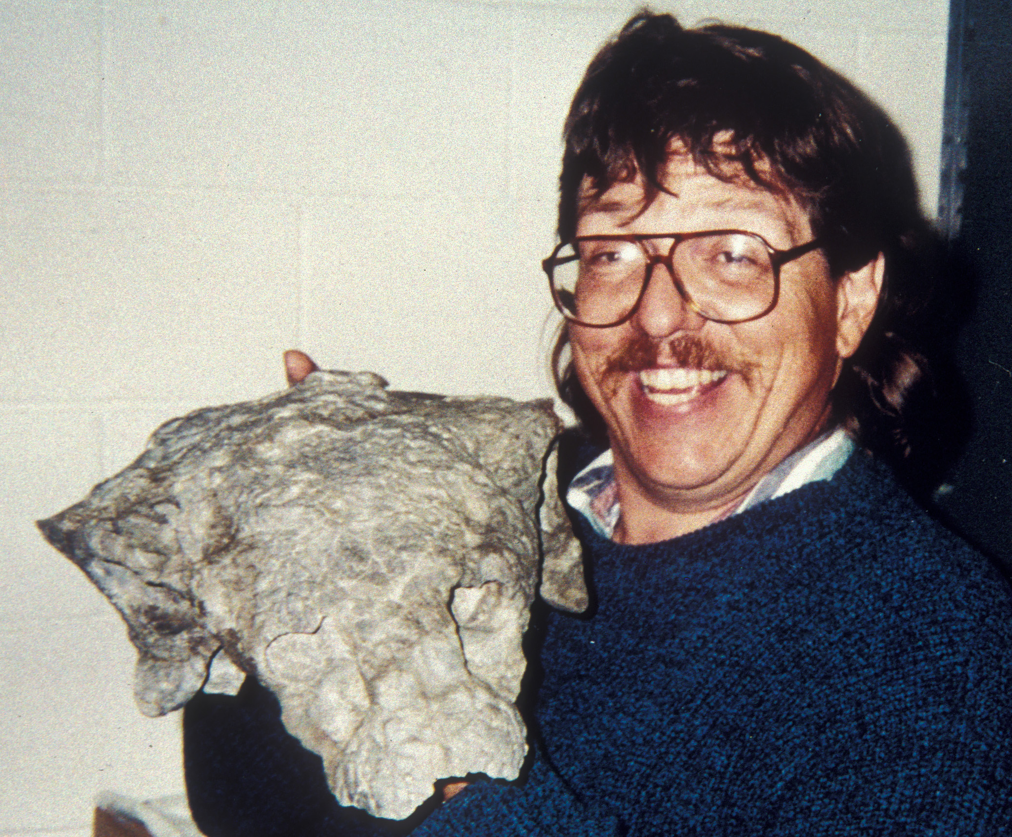 James Kirkland, State Paleontologist with the Utah Geological Survey.