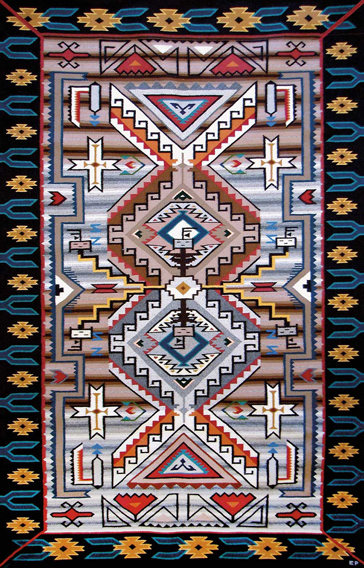 Presented By Toh Atin Gallery Of Durango Colorado Nhmu Will Be Hosting A Navajo Rugs All Sizes And Design Styles Handwoven Artists In The