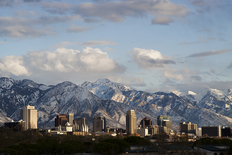 Salt Lake City. Photo courtesy of Ski Utah.