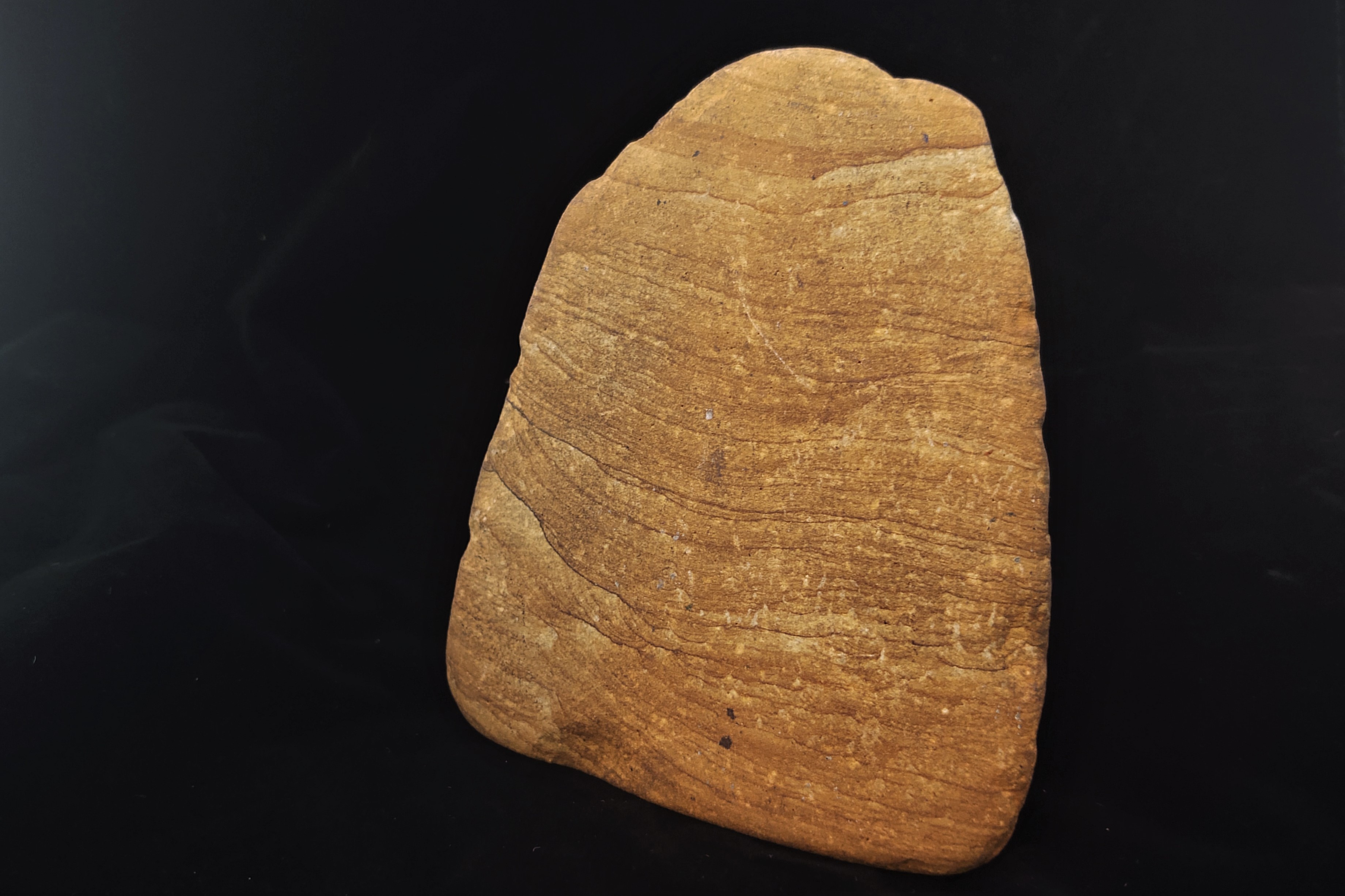 A piece of sandstone