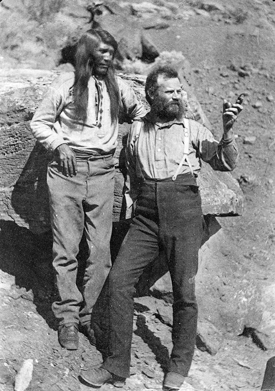 Famed explorer John Wesley Powell