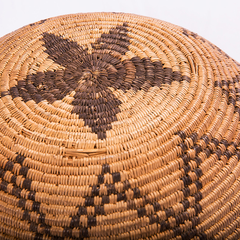 A Native American basket