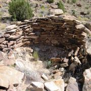 Prehistoric ruins in Range Creek Canyon