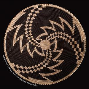 an overview of the story of terrors of basket weaving Descriptive text on the back provides an overview and information about each of  likely illustrate the story of salmon  this superb luisefio coiled basket,.