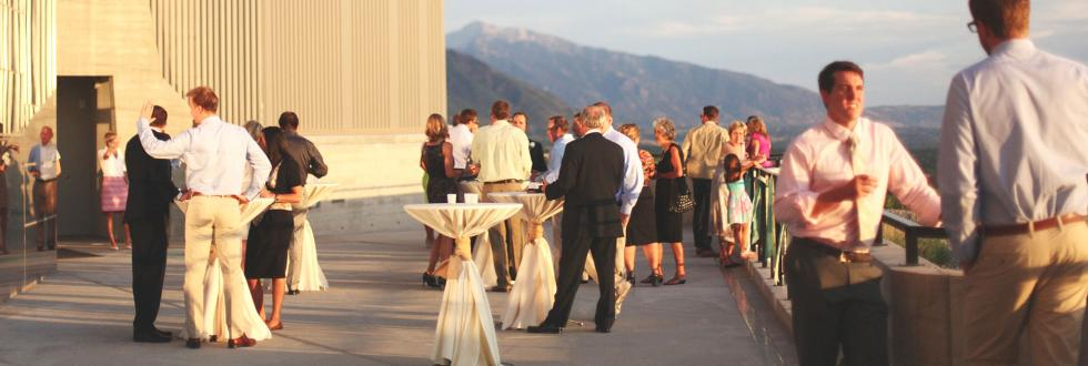Incredible indoor and outdoor event spaces at NHMU.