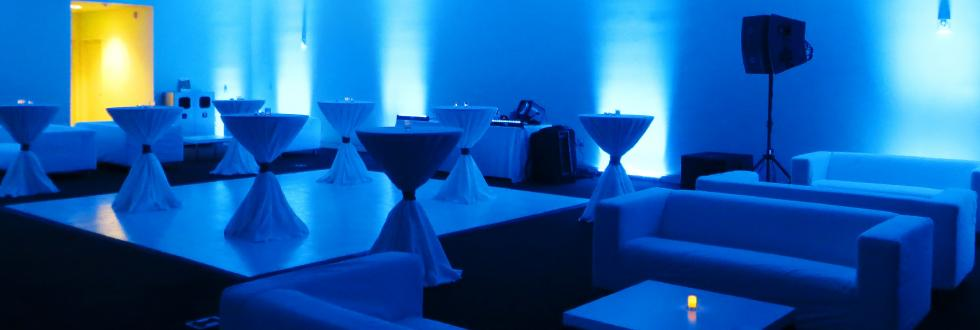 Customizable floor plans for weddings and receptions at NHMU.