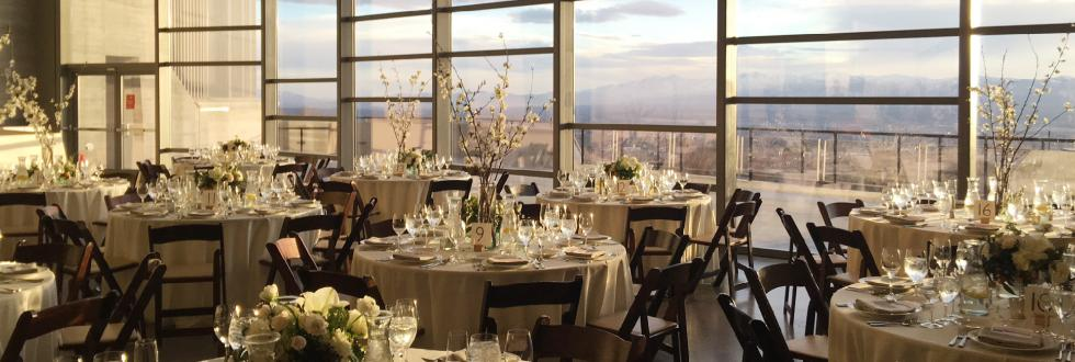 Large space and incredible views for your wedding at NHMU.