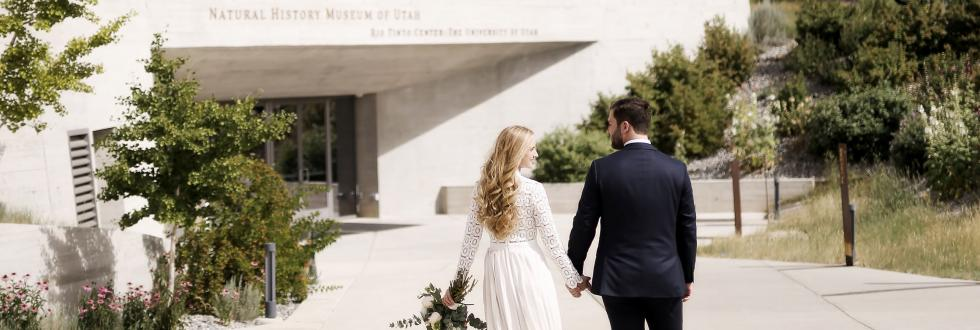 Weddings in the iconic Natural History Museum of Utah.