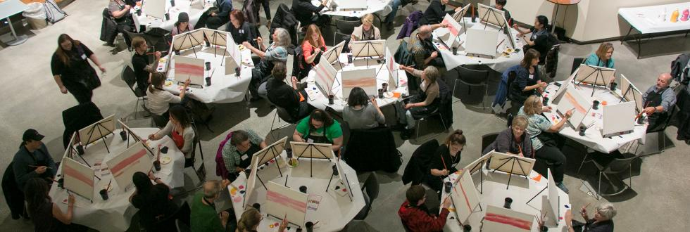 Craft Workshops and Paint Mixers at NHMU