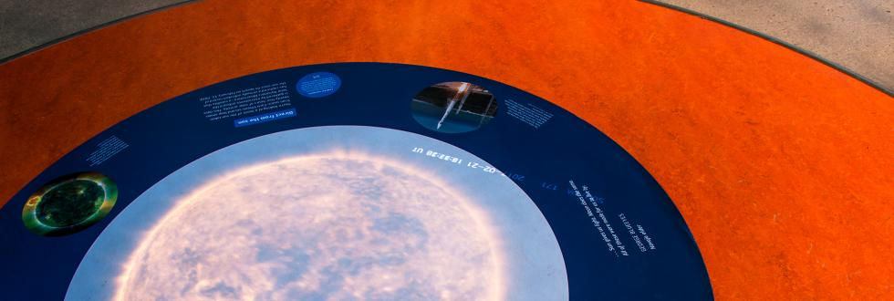Details of the Sky Gallery at NHMU.