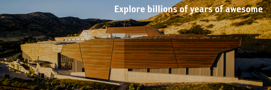 Explore a billion years of awesome at NHMU