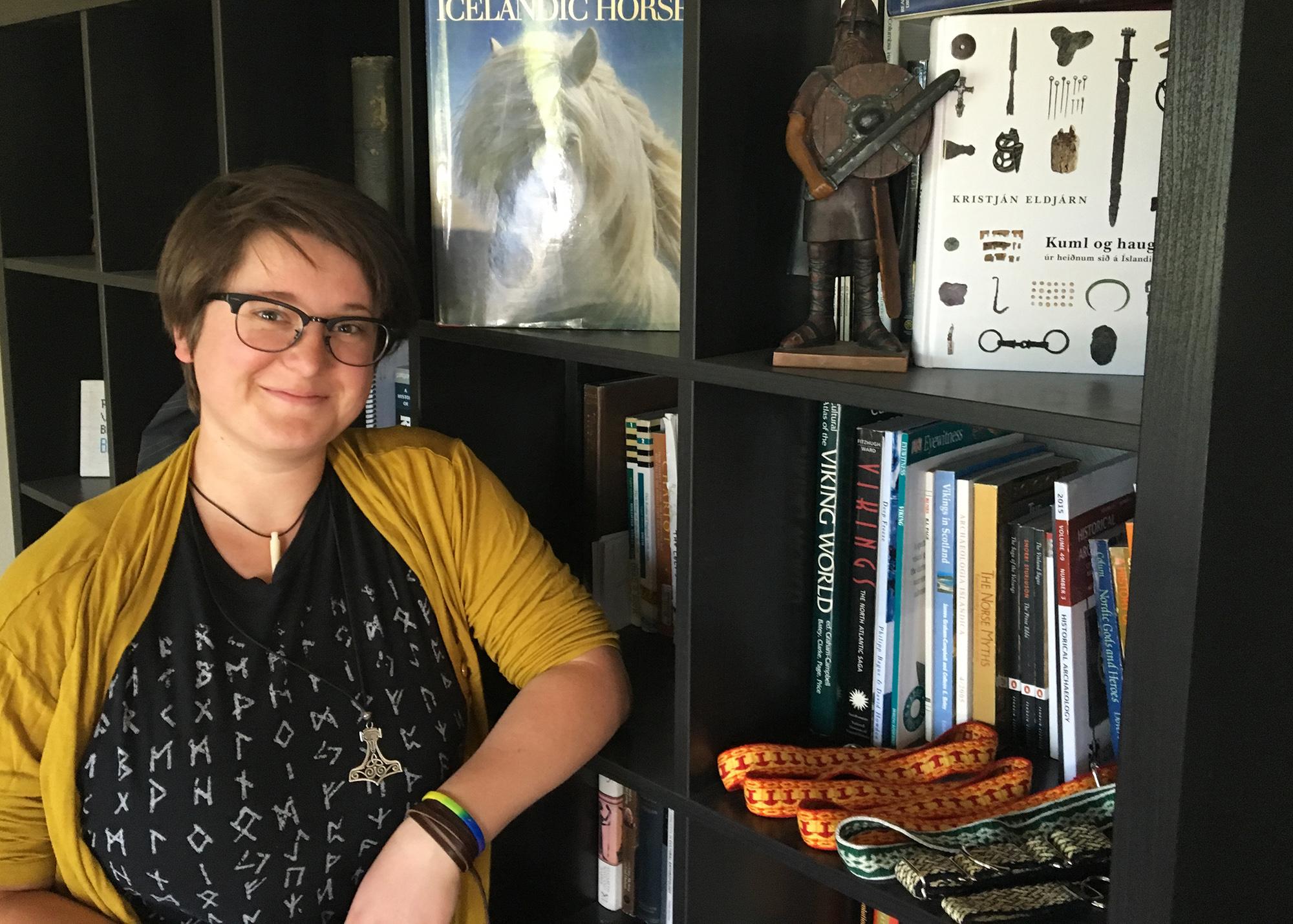 Kristina Stelter will speak at NHMU's Norse Fest.